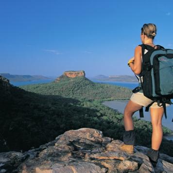 backpacker-uitzicht