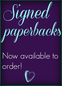 Signed Paperbacks Sign