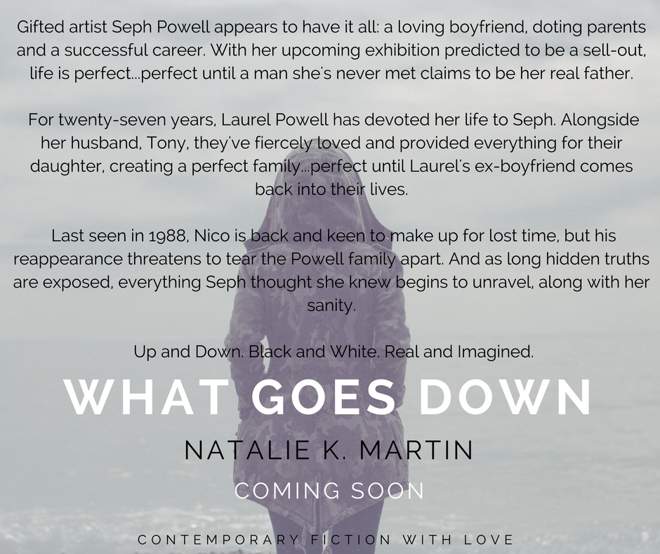 SEPH POWELL IS A GIFTED ARTIST WITH A LOVING BOYFRIEND AND SUPPORTIVE PARENTS. HER UPCOMING EXHIBITION IS JUST A FEW WEEKS AWAY AND PREDICTED TO BE A SELL-OUT. LIFE APPEARS TO BE PERFECT...PERFECT UNTIL A MAN SHE'S N.png